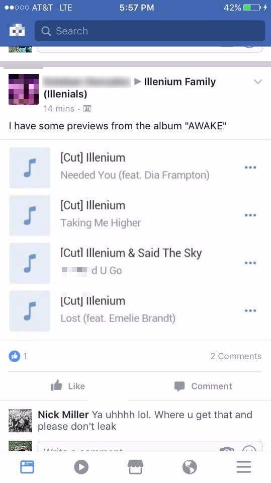 "Illenium Addresses Reports Of ""Awake"" Possibly Leaking!"