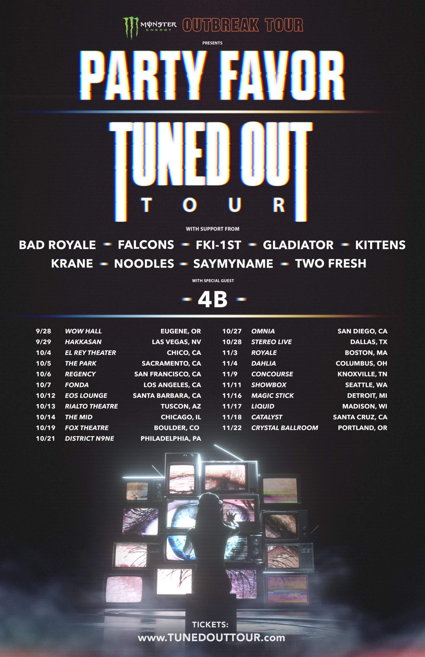 Tuned Out Tour