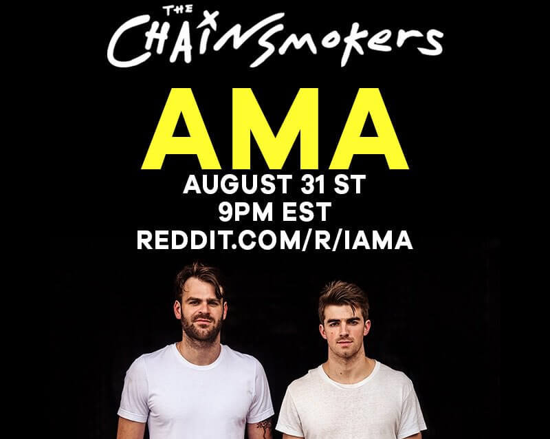 The Chainsmokers Tell All In 2nd Reddit AMA [WATCH] | Your EDM