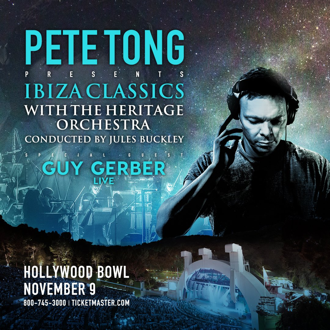 Win one pair of tickets to pete tong presents ibiza for Jules buckley heritage orchestra