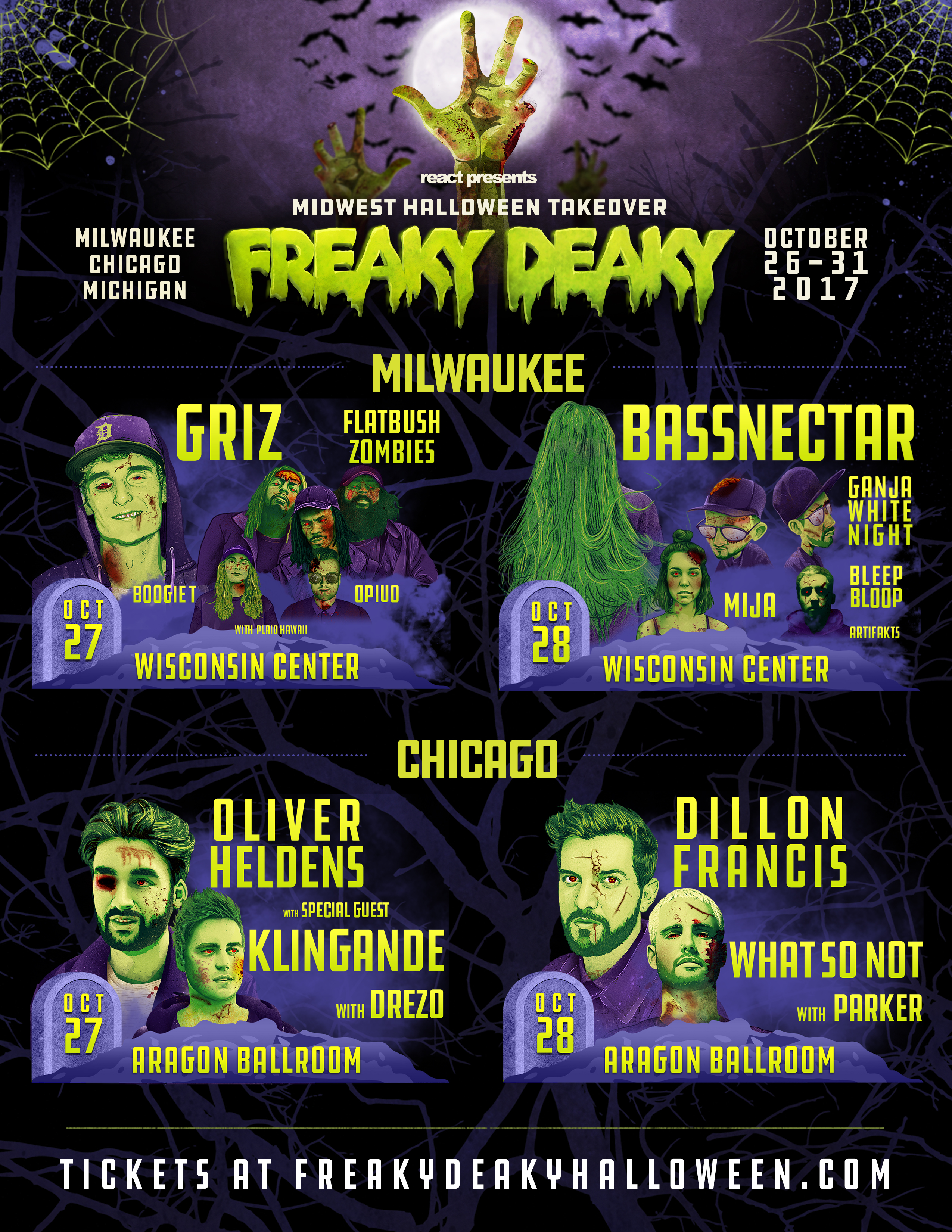 still available on the freaky deaky website if you want to see the full list of freaky deaky events happening across the midwest than you can check out
