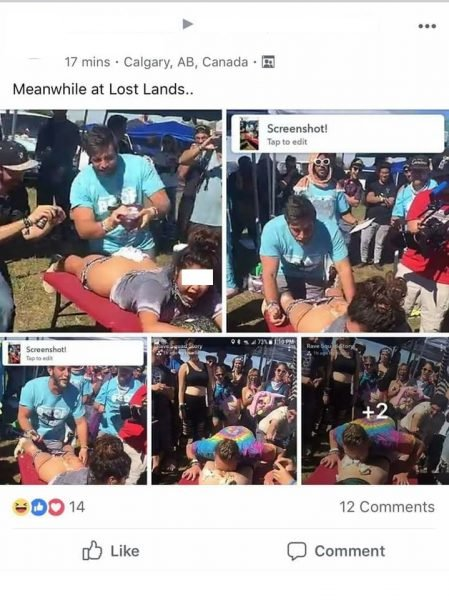 Lost Lands Festival Had an *SS Eating Contest