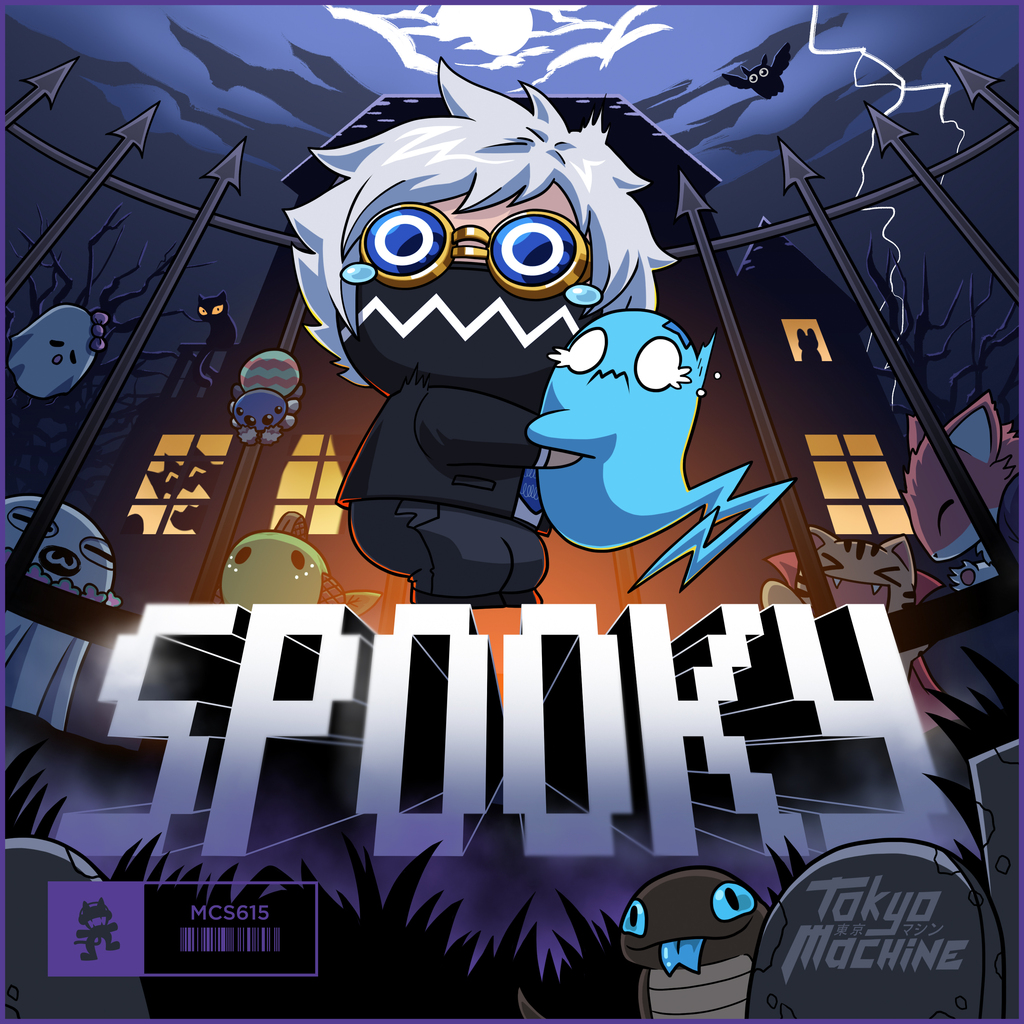 """tokyo machine drops heavy halloween-themed track """"spooky"""" 