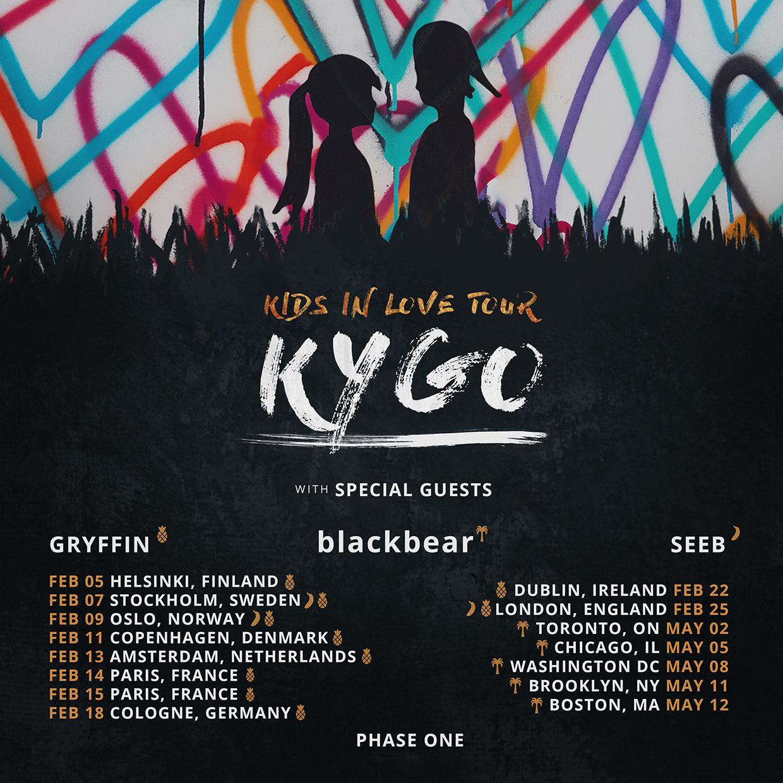Kygo Tour Tickets