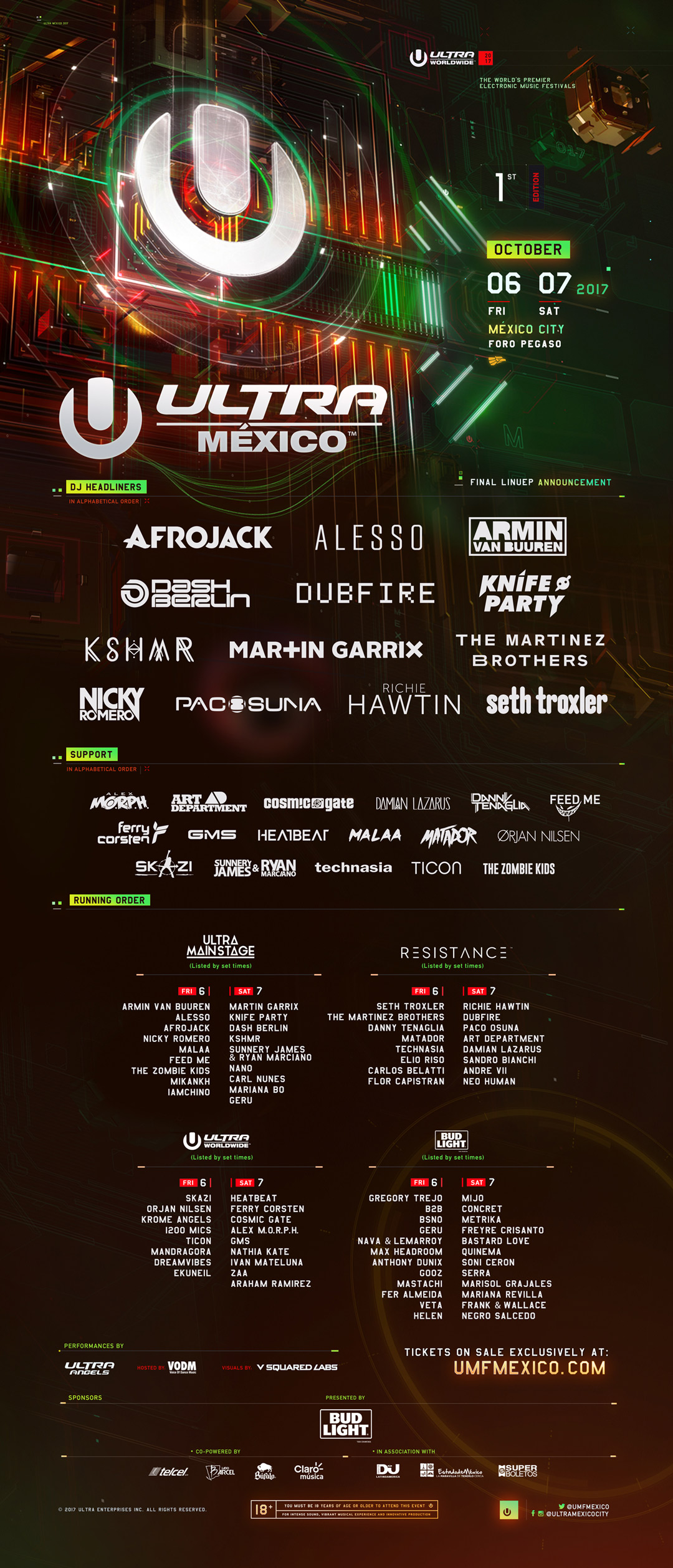 Ultra Mexico Offering Discounted Tickets, Giving Back To