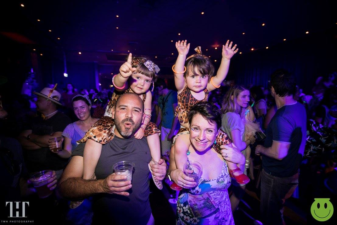 Parents Can Now Rave With Their Kids Thanks to These Family-Friendly Parties
