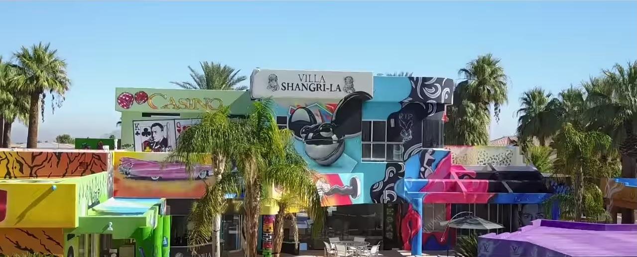 Massive Mansion Gets Graffiti D In Seven Days Complete