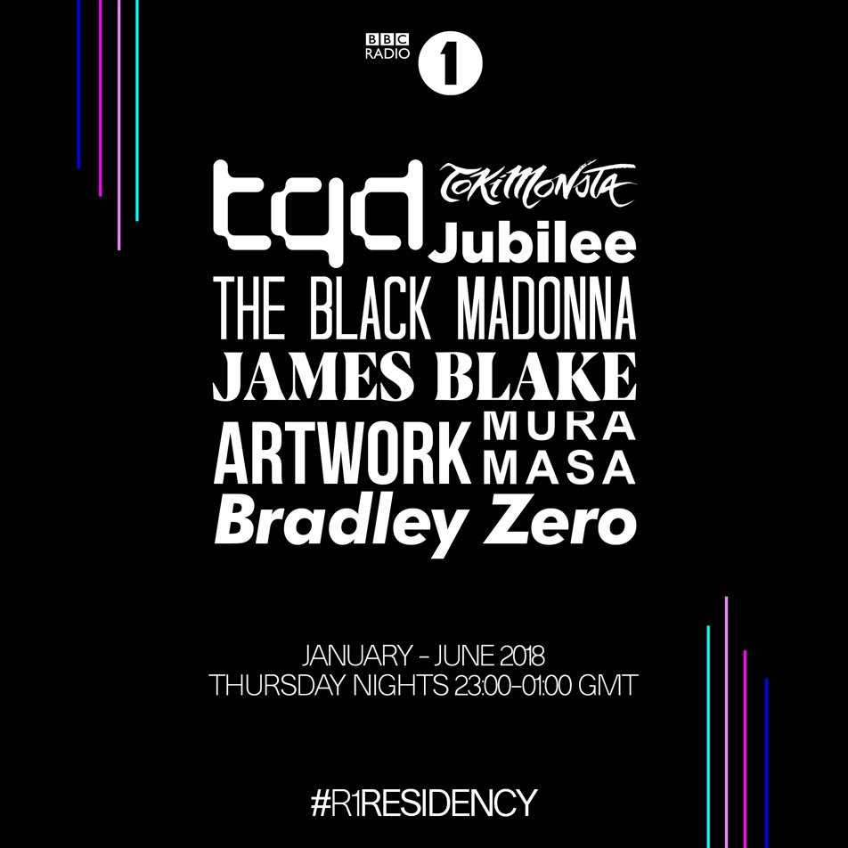 BBC Reveals Dance Music Residencies for 2018