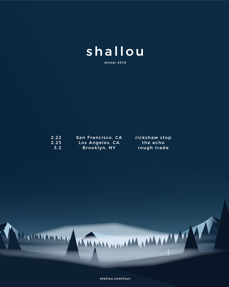 Shallou Announces US Tour Featuring Debut Headlining Shows