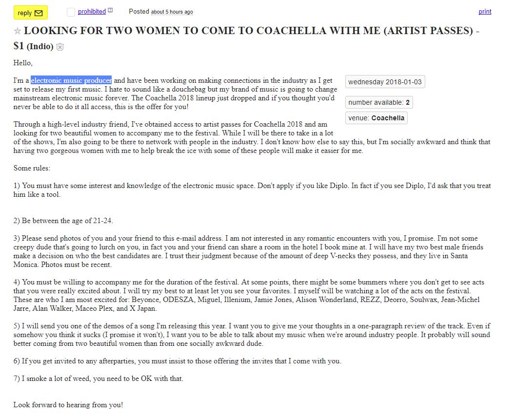 how to get coachella artist pass