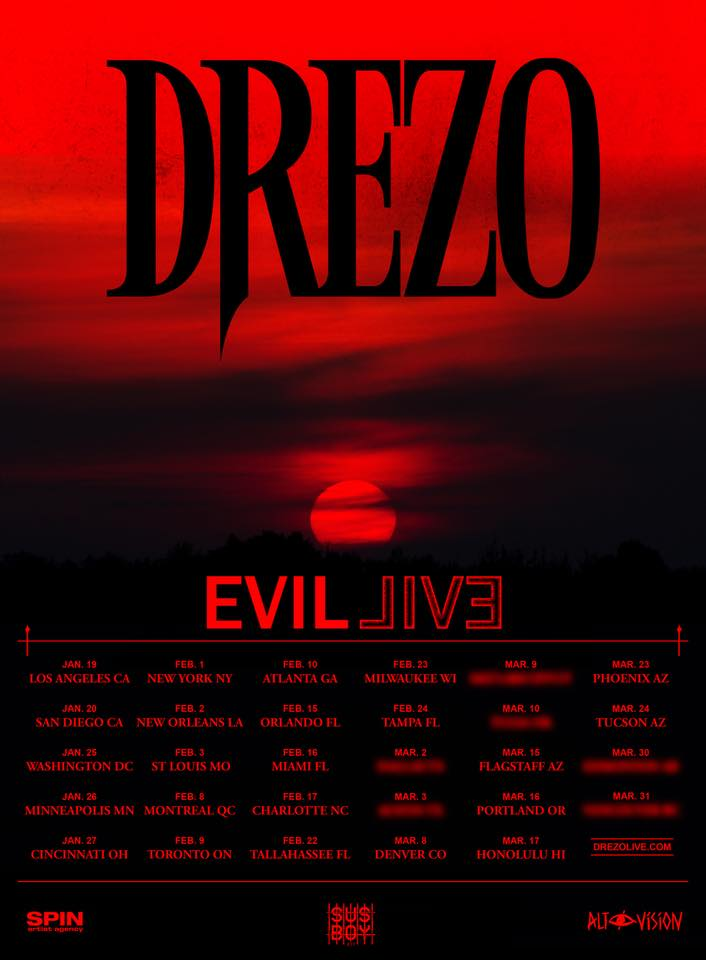 Drezo Drops Insane New Single To Kick Off Debut Live Tour MUST LISTEN]