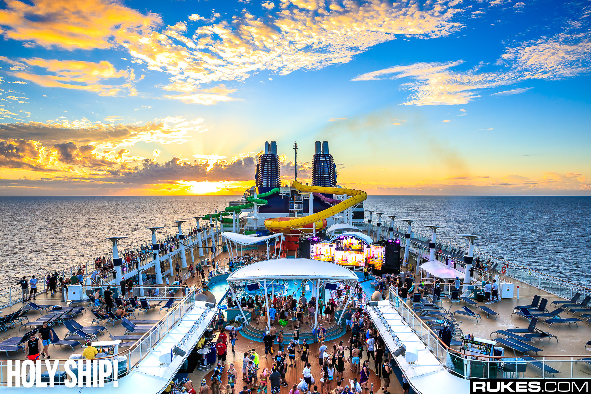 Holy Ship! Announces Lineup for Debut Holy Ship! Wrecked