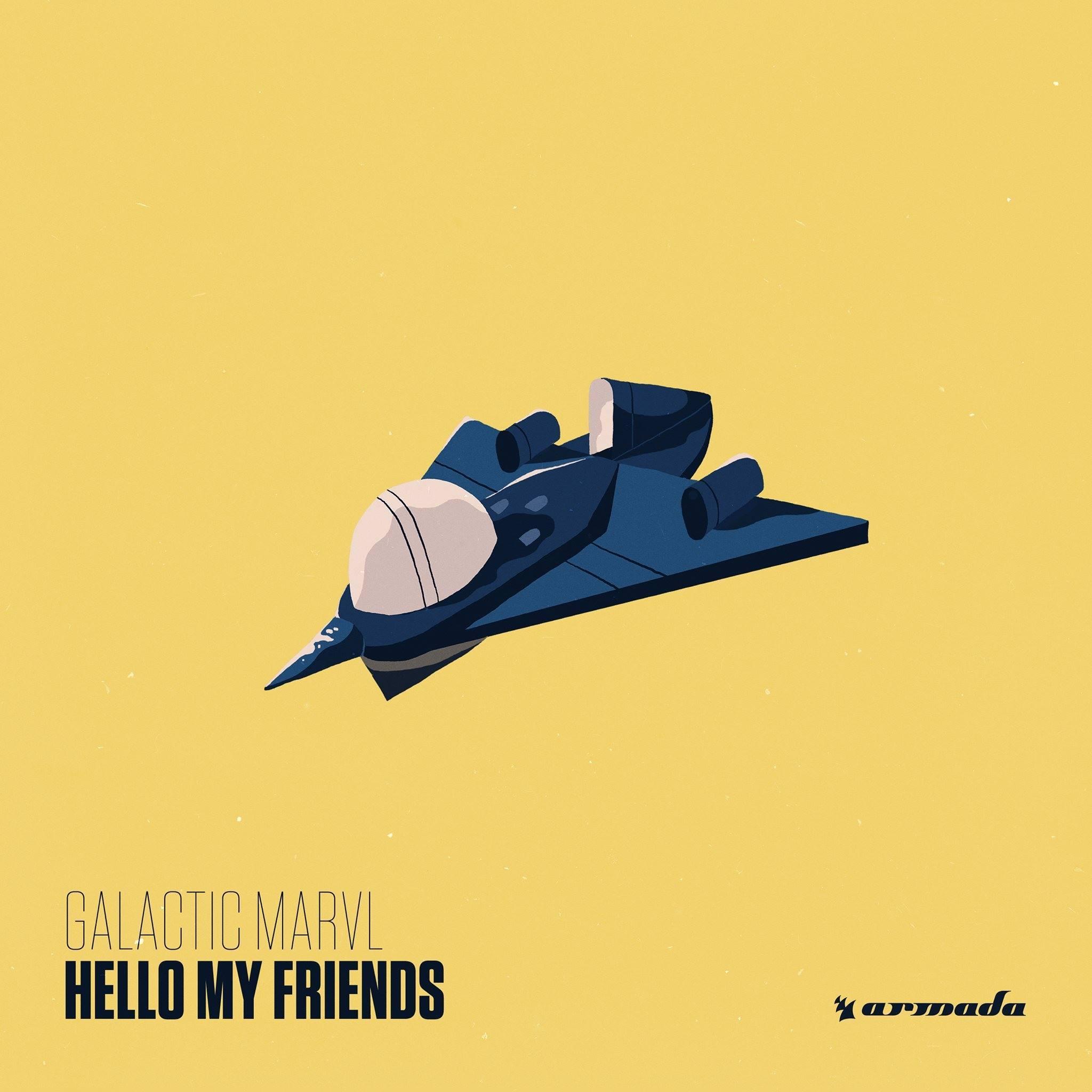 "Ivy Shakinit Good galactic marvl drop debut album ""hello my friends"" [armada records"