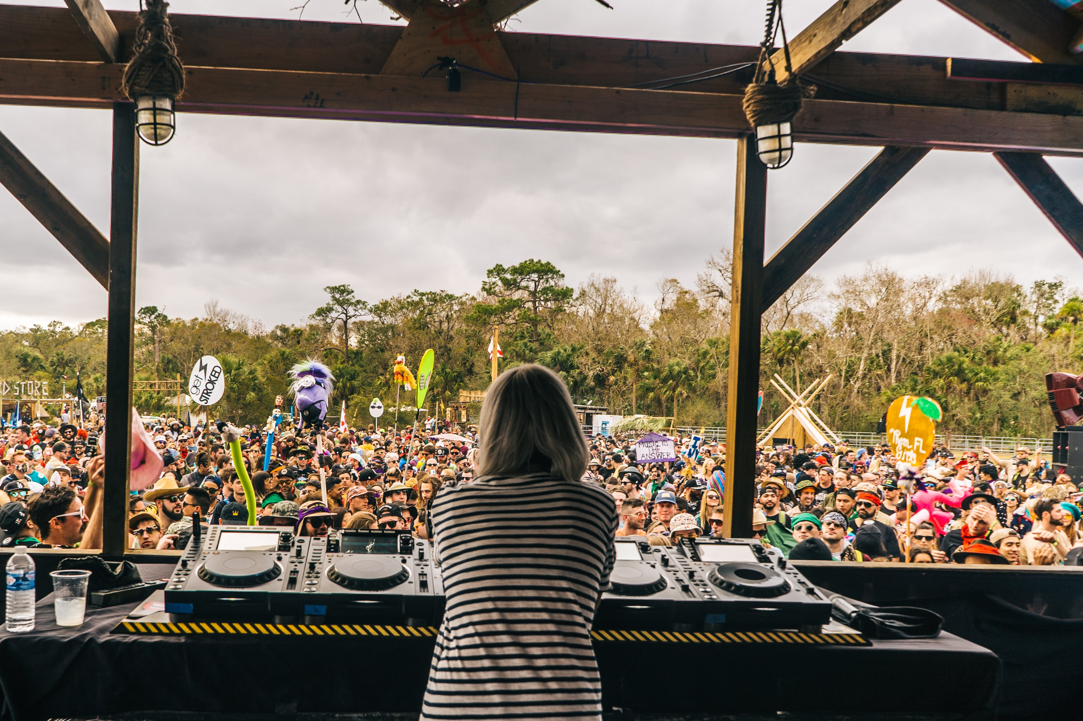 Dirtybird Campout East Coast Wins Debut Weekend Despite Near Shut-Down Review]