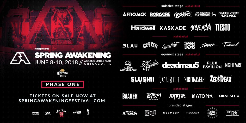 Spring Awakening's Lineup Is Here & It's Stacked AF