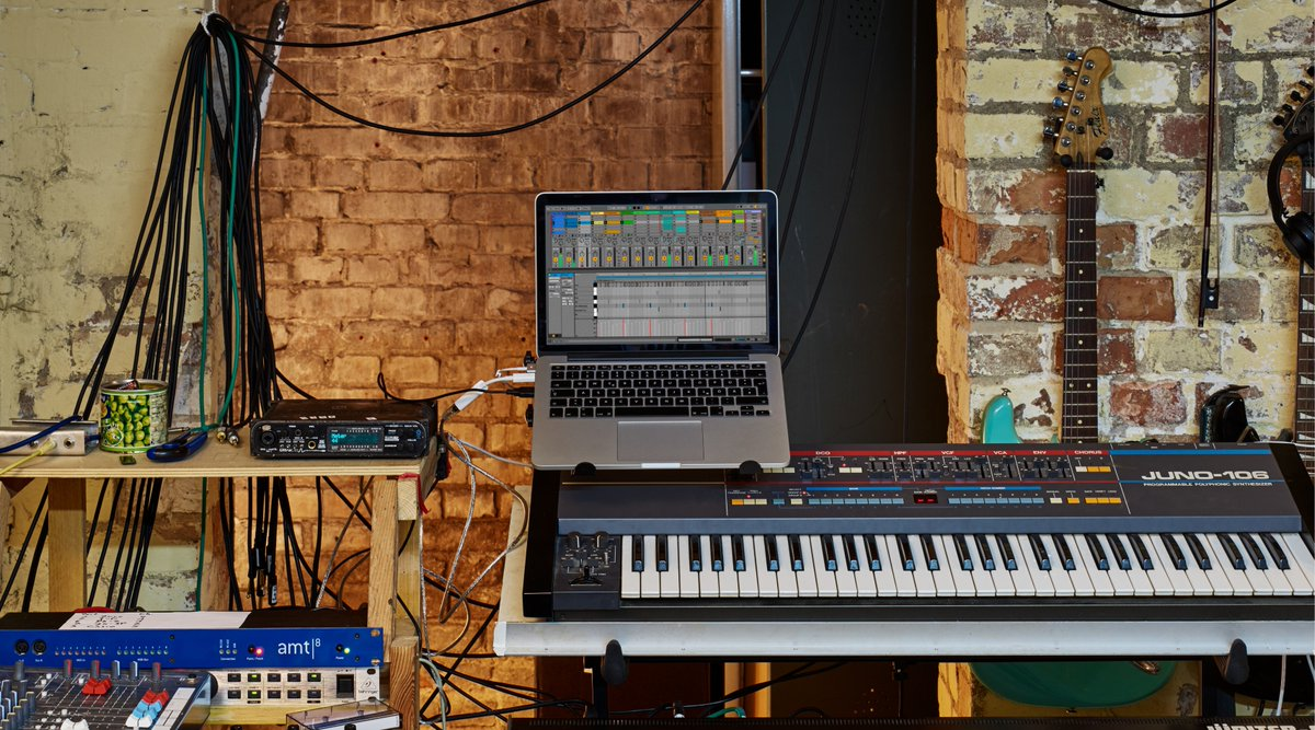 Ableton Releases Free Vintage Synth Pack Just in Time for the