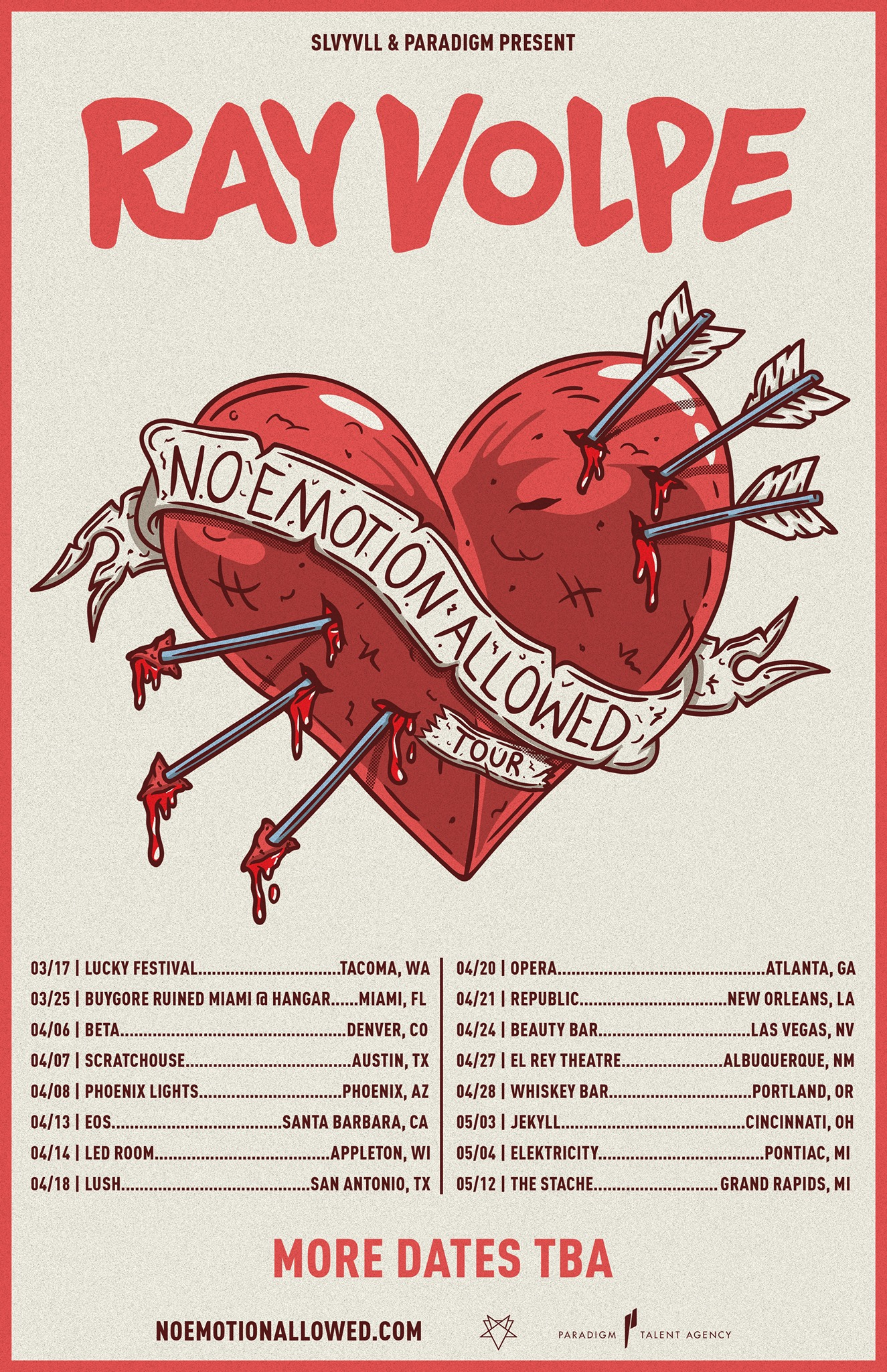 """Ray Volpe Drops New EP & Announces """"No Emotions Allowed"""" Tour"""