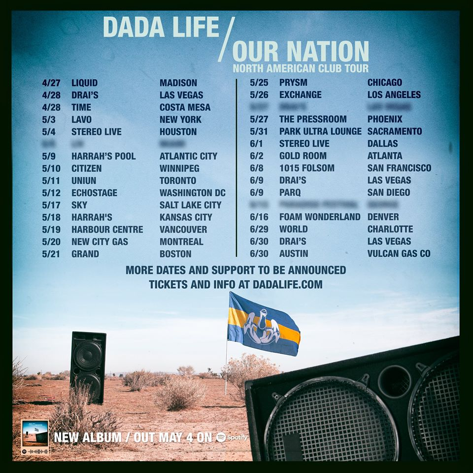 Dada Life Reveal Huge 30-Day North American Tour Ahead  New Album
