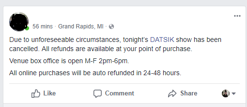 Carbin & Riot Ten Pull Support From Datsik's Ninja Nation Tour, Another Show Cancelled