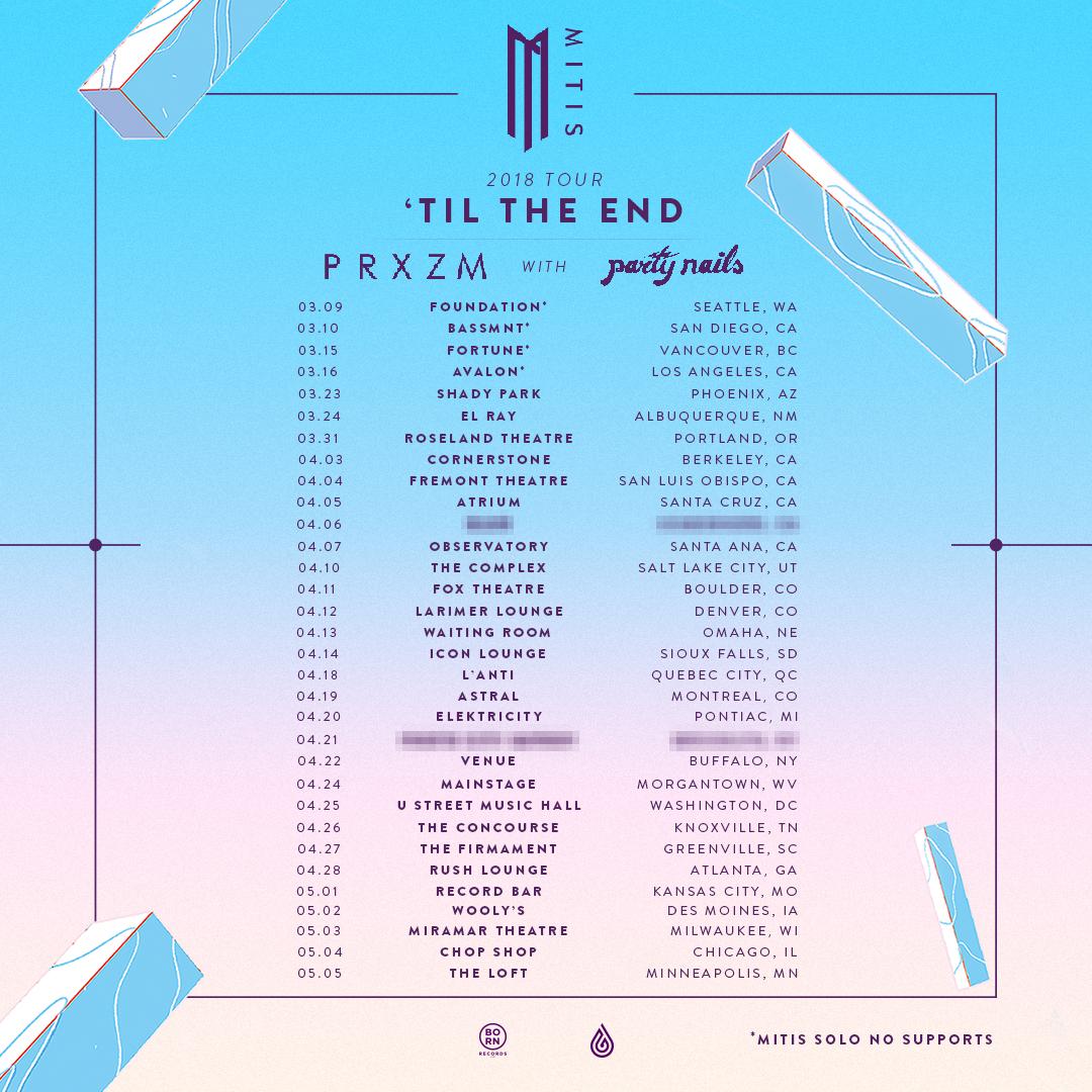 "Mitis Album Drops Next Friday, Embarks on ""Til The End"" Tour"