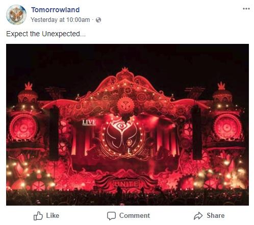 Did Tomorrowland Just Tease Swedish House Mafia for Their 2018 Festival?