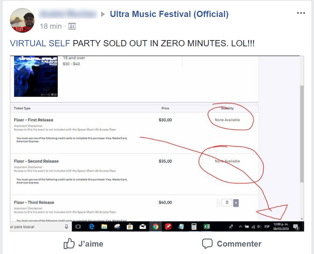 REPORT: Virtual Self's 3-Hour Ultra After Party Sold Out In Seconds