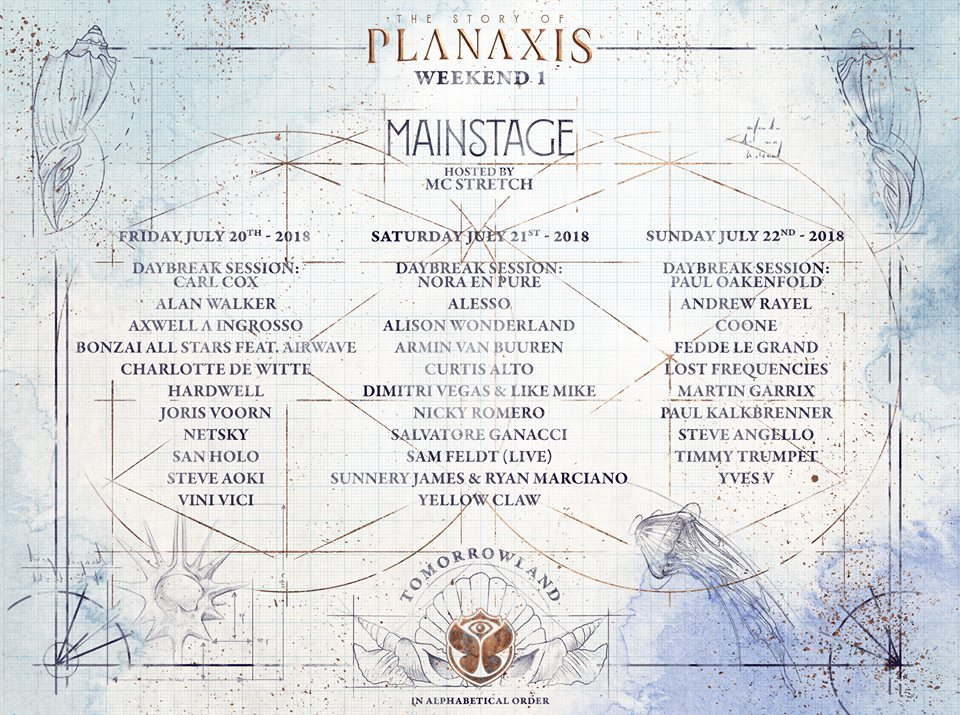 Tomorrowland 2018 Mainstage - Weekend 1