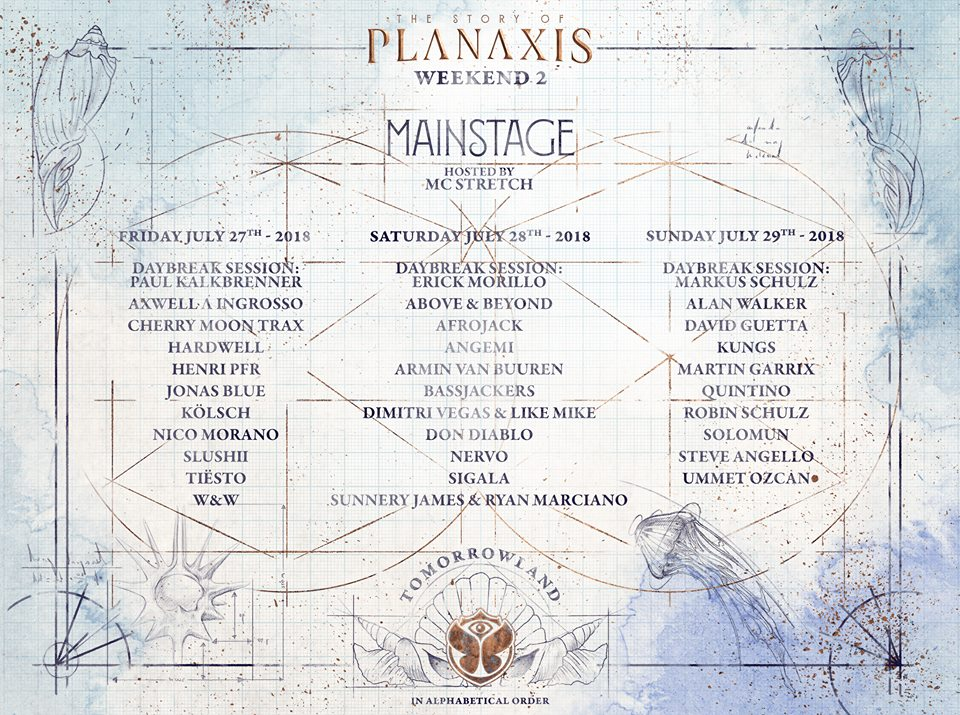 Tomorrowland 2018 Mainstage - Weekend 2