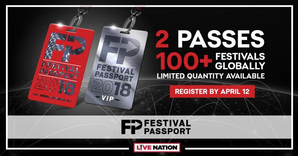 Live Nation Is Expanding Their Festival Passport Into The 2018 Festival Season