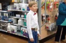 yodeling kid