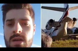 Alok plane crash