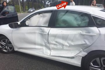 calvin harris car crash