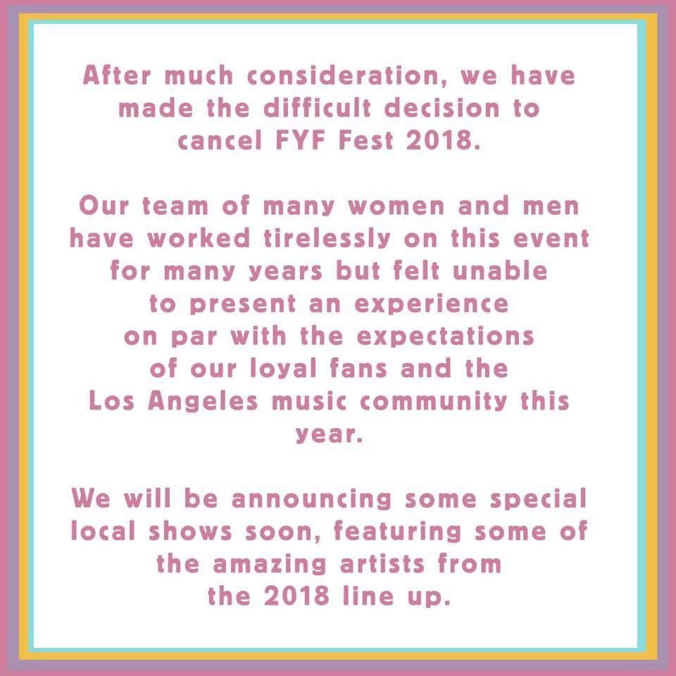 Facebook - FYF Fest