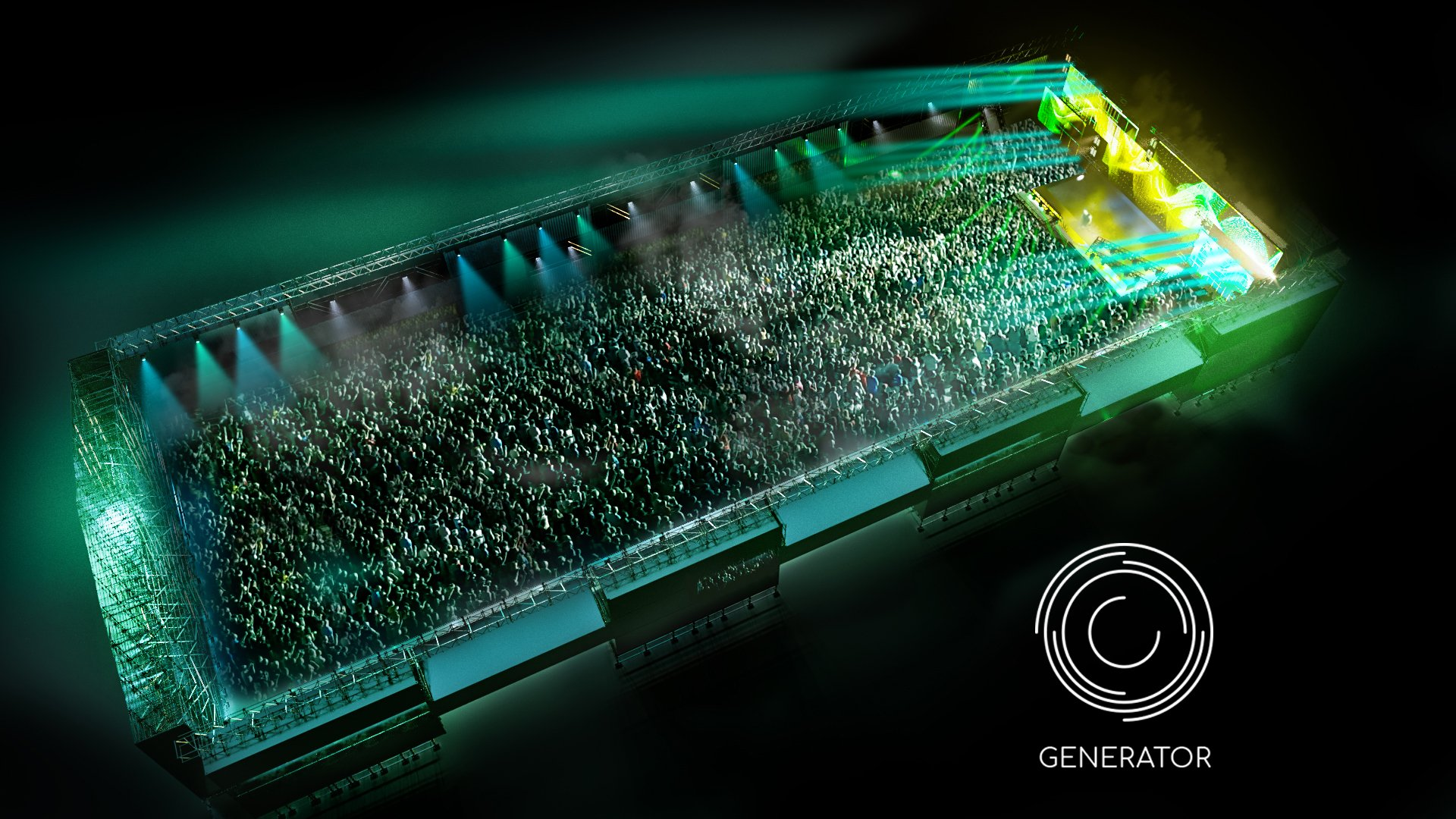creamfields - generator