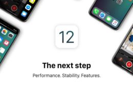 Apple iOS 12 promo image