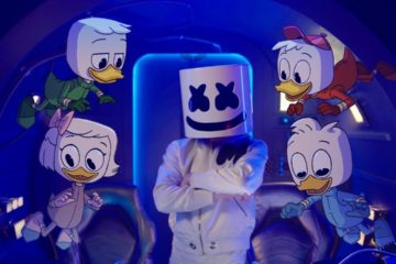 Marshmello x DuckTales - FLY (Music Video)