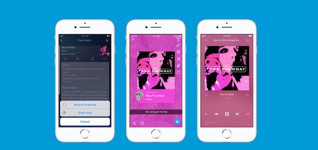 Pandora Snapchat