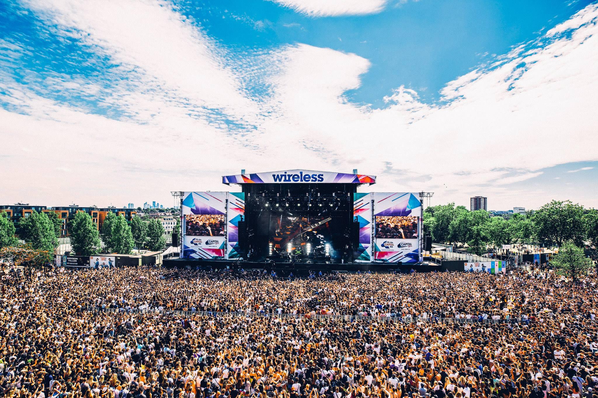 Wireless Festival - Facebook