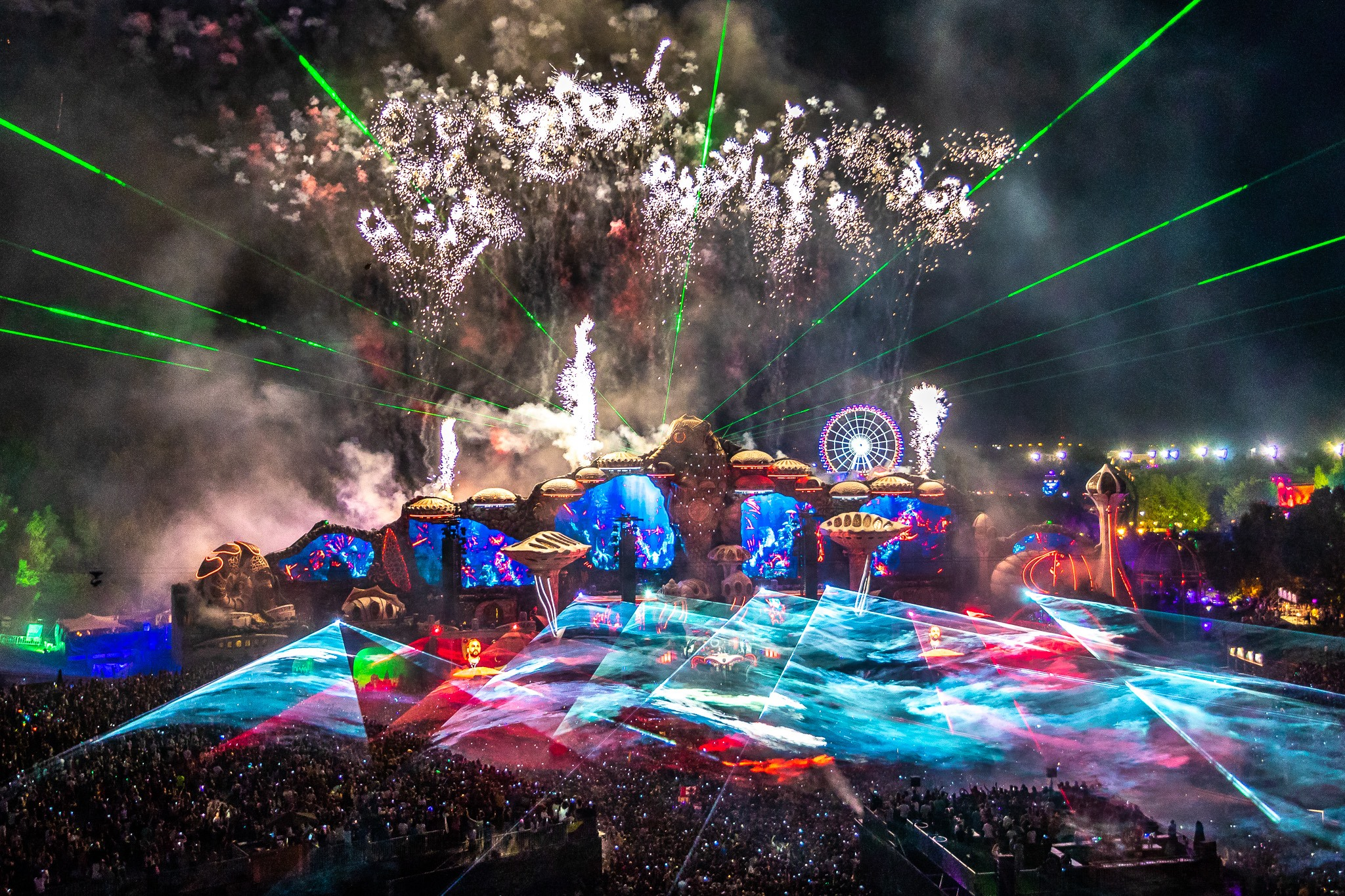Tomorrowland Begins Construction On 2019 Main Stage, Book Of