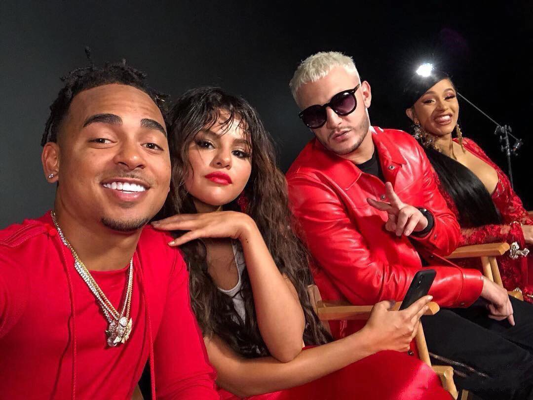 Selena Gomez Teases Collaboration With Cardi B, DJ Snake & Ozuna