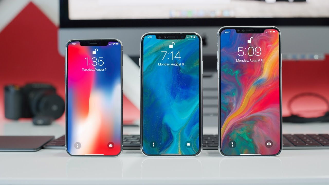 Appeared the characteristics of all models of the iPhone 2018