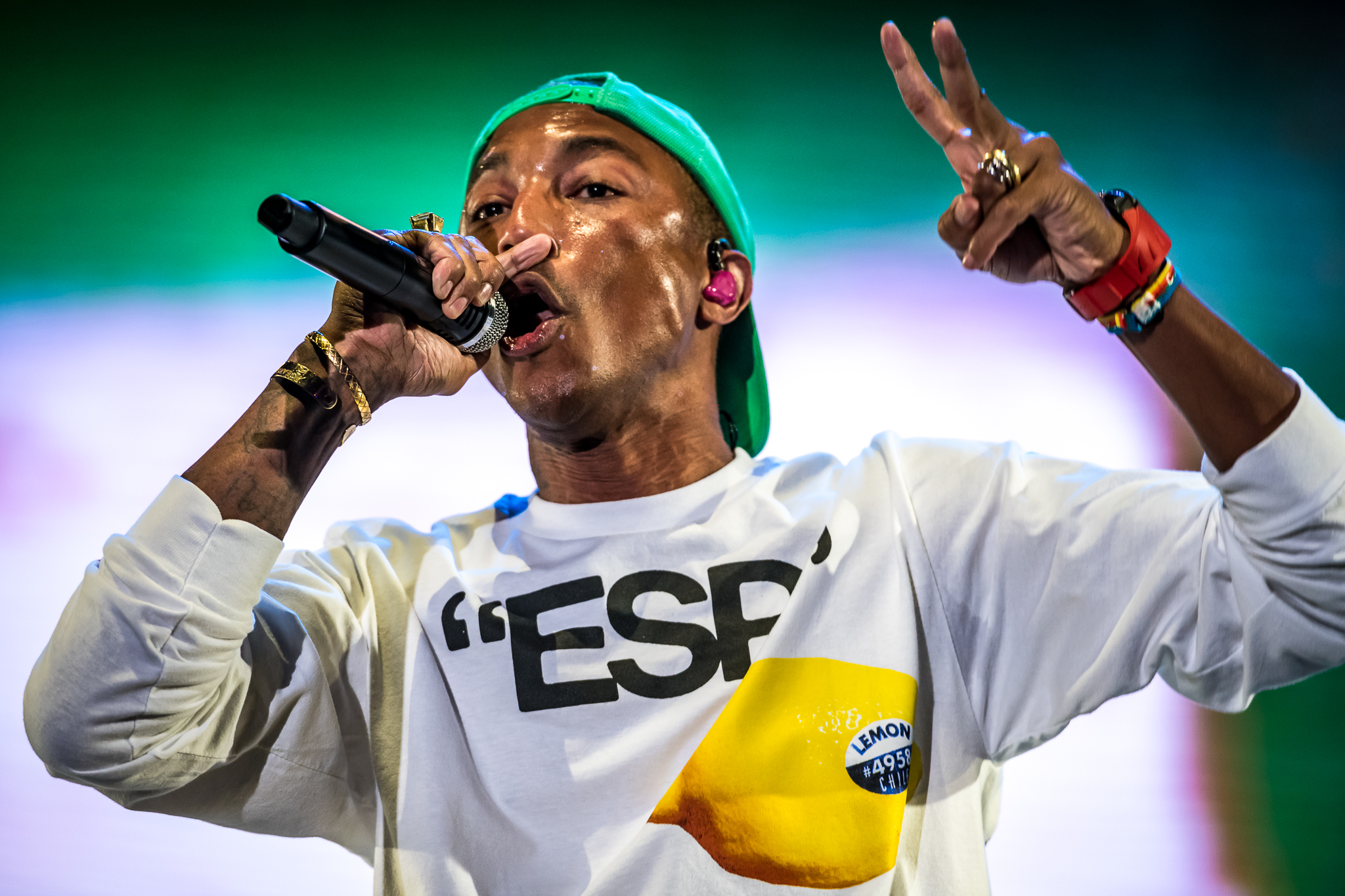 Get 'Happy' out of your rallies, Pharrell Williams warns Trump