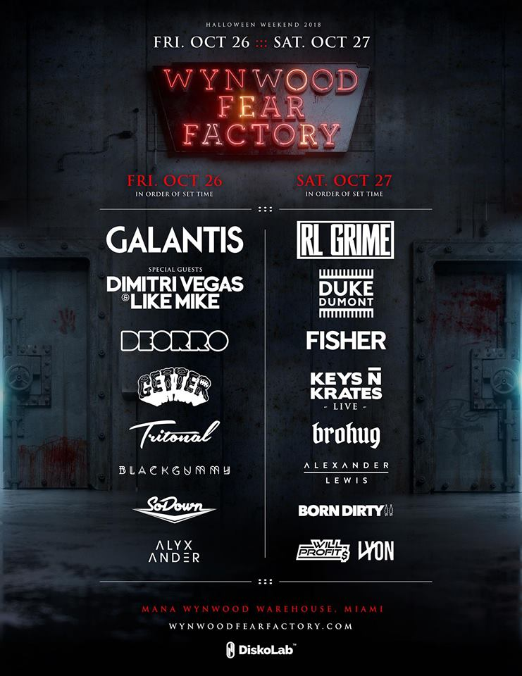 Wynwood Fear Factory Touts Galantis, RL Grime and More for Halloween Weekend
