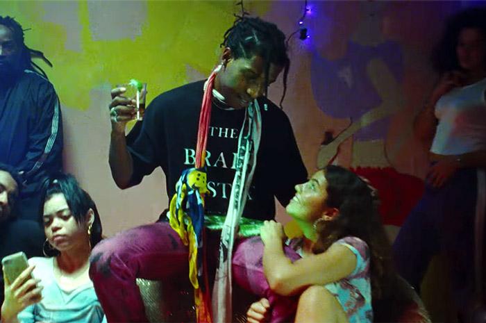 """A$AP Rocky - """"Sundress"""" video screenshot"""