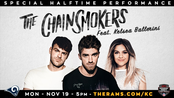 The Chainsmokers To Perform During NFL Halftime Show Tonight