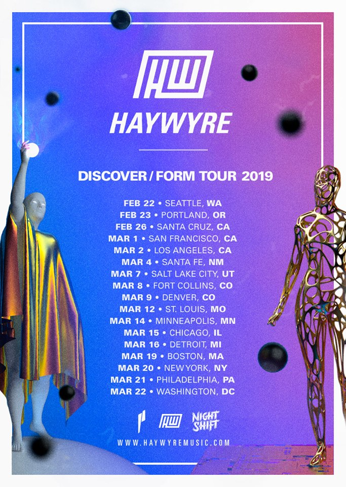 Haywyre Completes Return From 2-Year Hiatus With New EP MUST LISTEN]