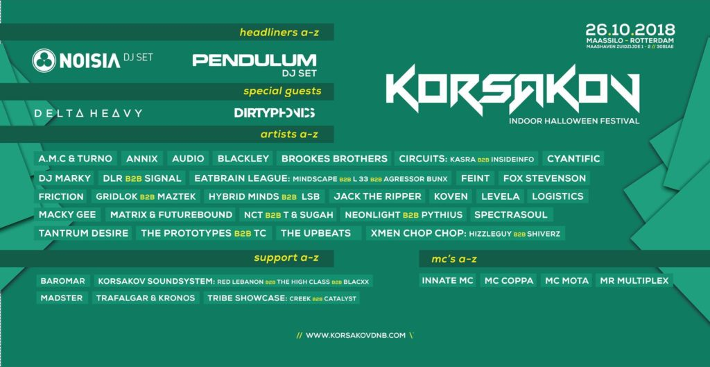 Your EDM Q&A: Dutch DnB Festival Giant Korsakov is Starting a New Label and Here's Why It's a Big Deal