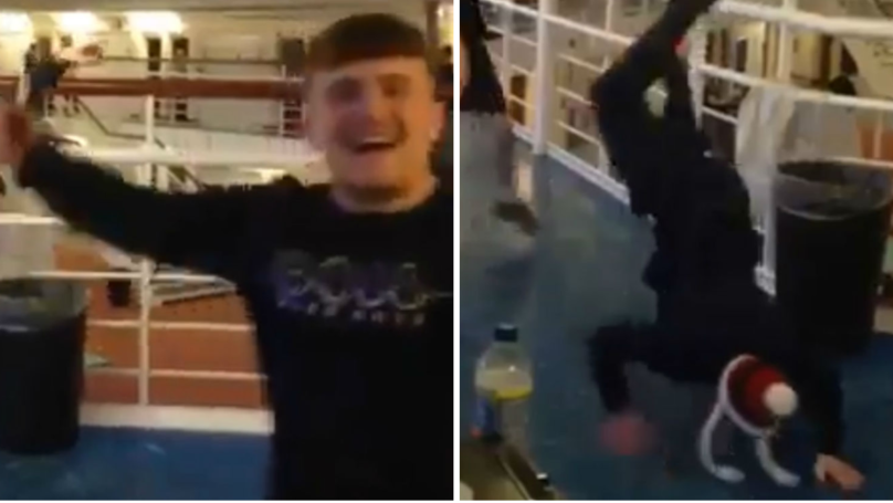 WATCH: Prisoners 'Rave' On Christmas Day While Listening To