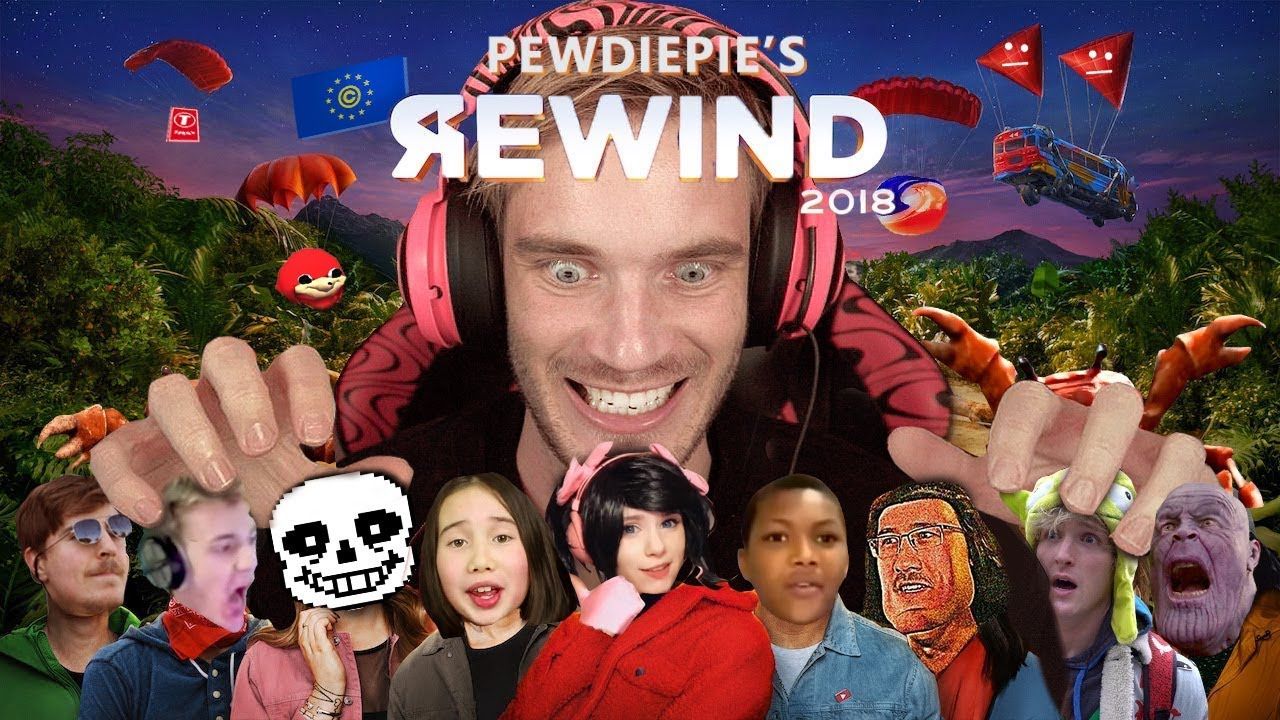 PewDiePie's YouTube Rewind Is What The Real One Should've Been