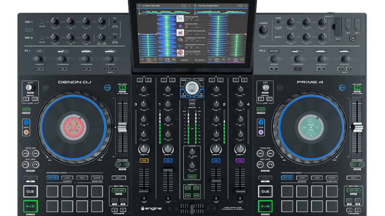Denon DJ Introduces Prime 4 Standalone DJ System To Compete